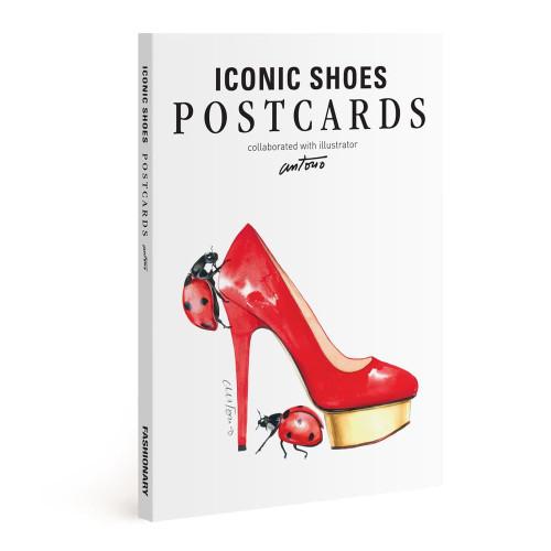 Fashionary Iconic Shoe Postcards: Illustrated By Antonio Soares