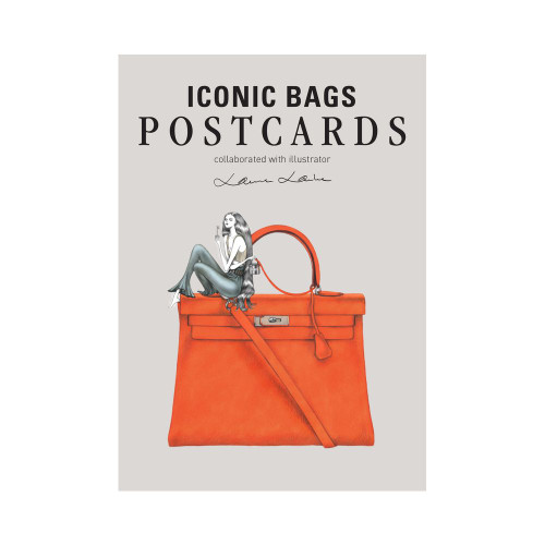 Fashionary Iconic Bag Postcards: Illustrated By Laura Laine
