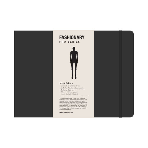 Fashionary Portfolio Mens Sketchbook A4