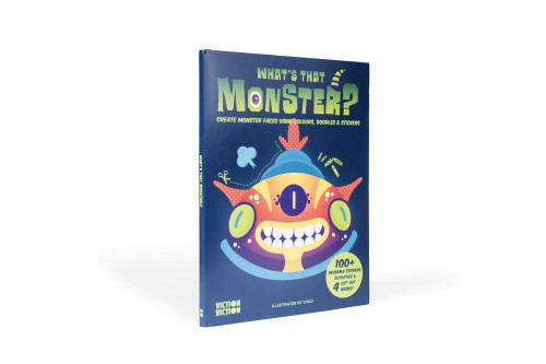 What's That Monster?: Create monster faces using colours, doodles & stickers