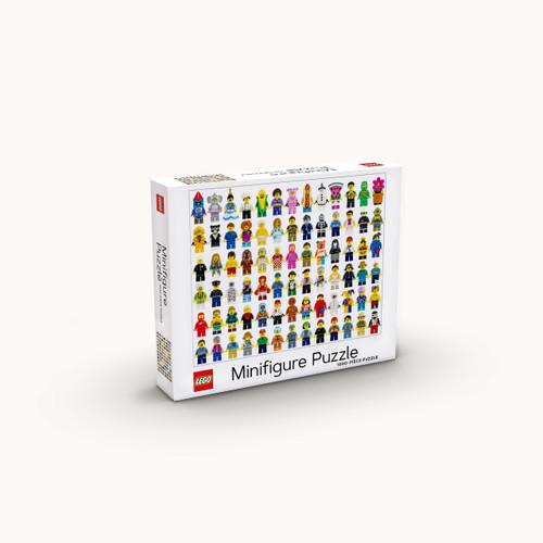 LEGO Minifigure 1000-Piece Puzzle