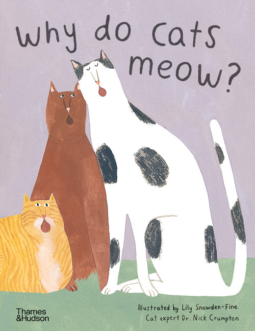 Why do cats meow?: Curious Questions about Your Favourite Pet