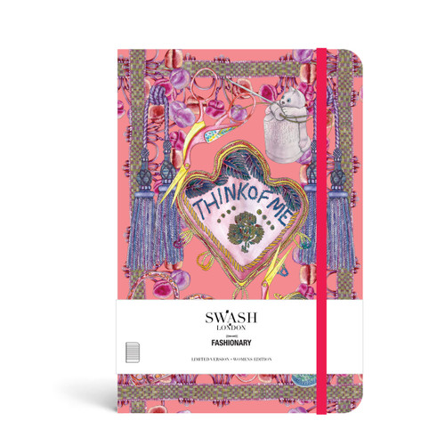 Swash London X Fashionary Think of Me Ruled Notebook A5
