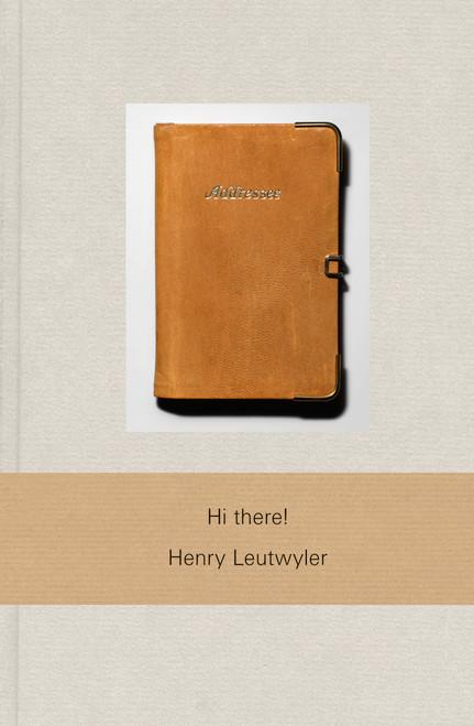 Henry Leutwyler: Hi there!