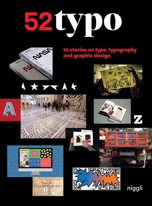 52 Typo: 52 stories on type, typography and graphic design