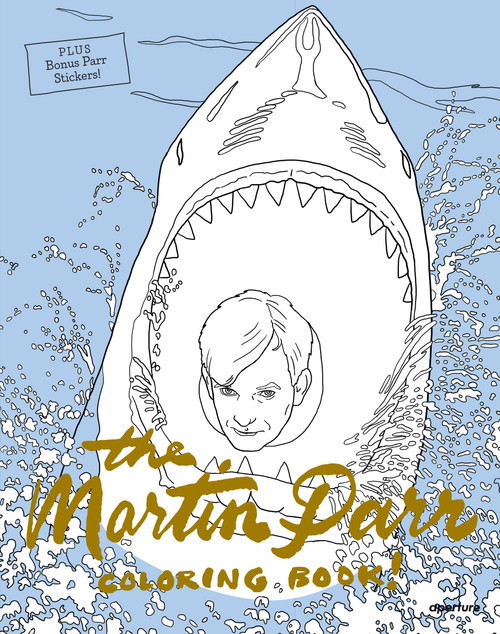The Martin Parr Coloring Book!