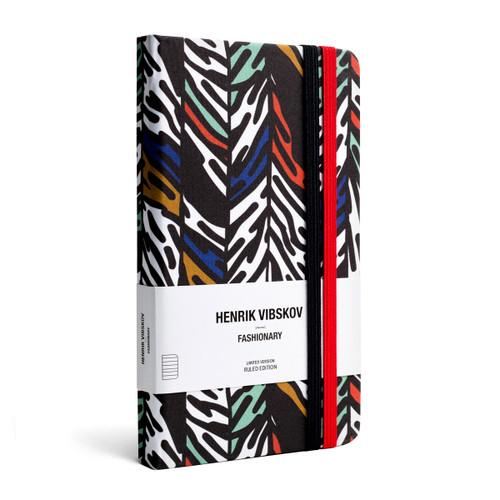 Henrik Vibskov X Fashionary Fung Print Ruled Notebook A6