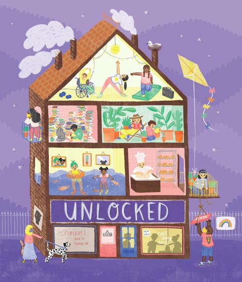 Unlocked: How Tiny Owl illustrators coped with lockdown