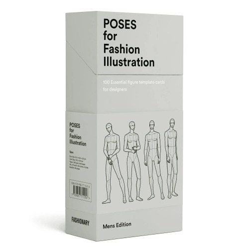Poses for Fashion Illustration - Mens (Card Box)