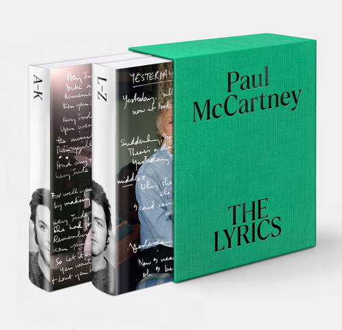 The Lyrics: 1956 to the Present  by Paul McCartney   **PRE-ORDER NOW, Available in Nov 21**