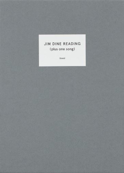 Jim Dine Reading: (Plus one song)
