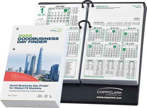 Goodbusiness Day Finder® 2022 Refill
