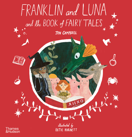 Franklin and Luna and the Book of Fairy Tales (Paperback edn.)