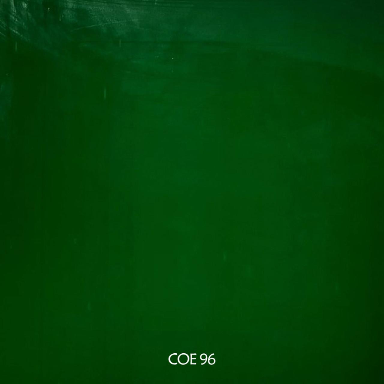 Green Opal 96 COE Oceanside Glass Noodles