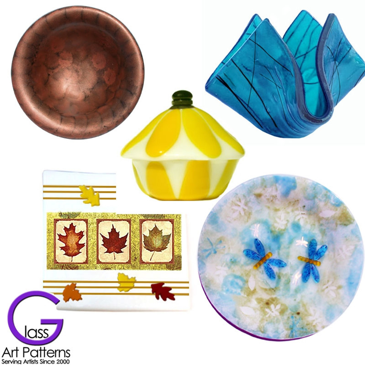 fused glass projects and art glass education go fusing