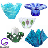 Fused Glass Vases