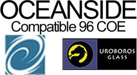 Oceanside Compatible 96 COE Uroboros