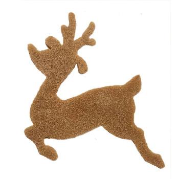 COE96 Precut Glass Reindeer Rudolph Christmas Ornament Wafer Set (96816)