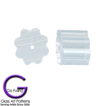 Earring Keepers Plastic Stops Kit Package of 20, which is 10 pairs of earrings.