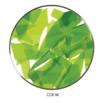 Coloritz™ Confetti Glass Shards Green Yellow Transparent, SKU 96901-CG