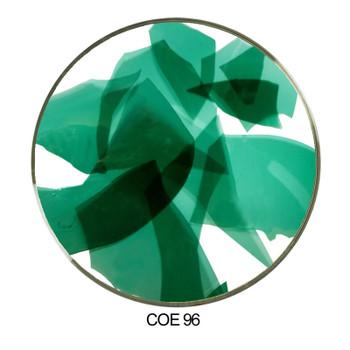 Coloritz™ Uroboros CN-5-96 Confetti Glass Blue Green Transparent COE96