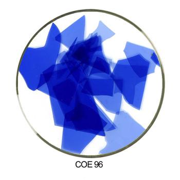 Coloritz™ Confetti Glass Shards Cobalt Blue Opal COE96