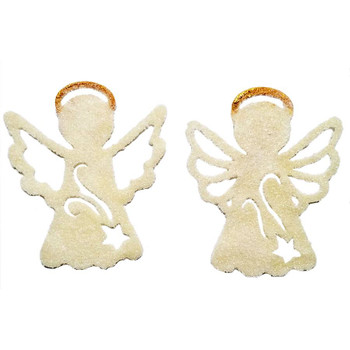 COE96 Precut Glass Angel Ornament Wafer Set. Select from 15 different color sets