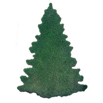 COE96 Precut Glass Aventurine Green Balsam Fir Tree Wafer Set