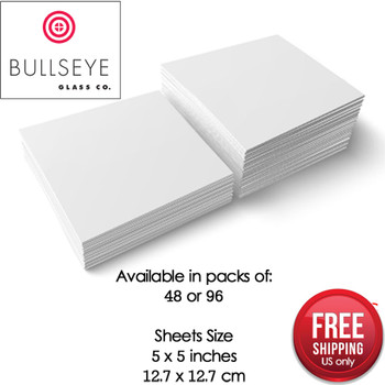 "Crafters Best Thinfire Kiln Shelf Paper 2-1//2/"" x 2-1//2/"" 100 Sheet Mini Pack"