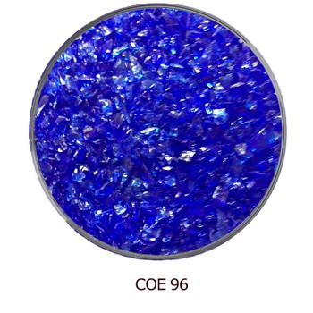 COE96 Glass Frit - Blue Dark Transparent