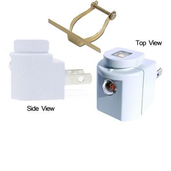 Night Light LED Sensor Low Profile Style Light Grey