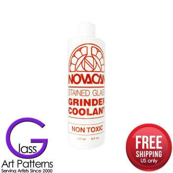 Glass Tool - Glass Grinder Coolant 8 oz by NOVACAN FREE SHIPPING