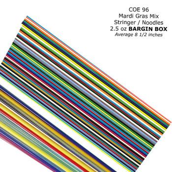 COE96 Noodles & Stringers Mardi Gras NSM-96 Bargain Box