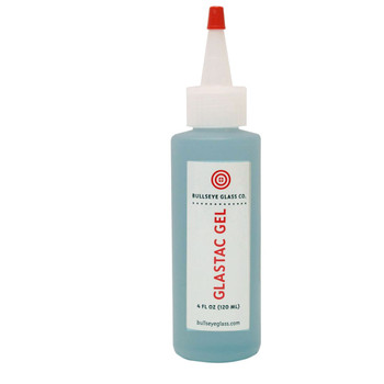 GlasTac Gel Glue 4 oz , Bullseye 8268