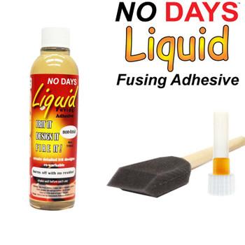 Fusing Adhesive - Glass Glue No Days Liquid , NDLF-004