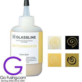 Butterscotch Glassline Paint Pen GA41 Fusible