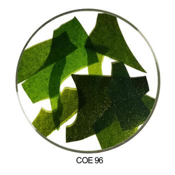 Coloritz™ Confetti Glass Shards Aventurine Green COE96