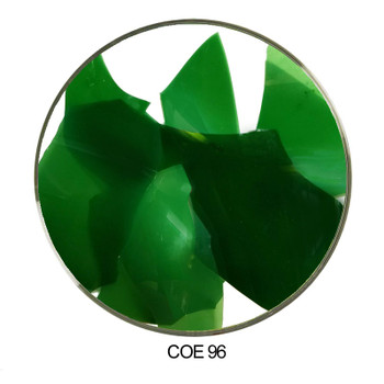 Coloritz™ Confetti Glass Shards Green Opal COE96
