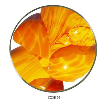 Coloritz™ Confetti Glass Shards Hot Color Mix Opal COE96 SKU 96-33