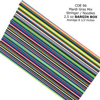 COE96 Stringers Mardi Gras SM-96 Bargain Box , S-M-96
