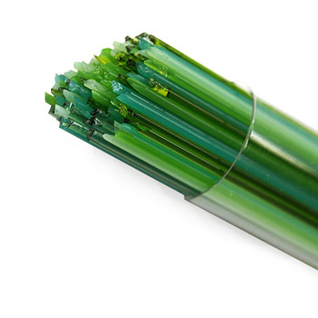 COE96 Glass Stringer Green Family Tube 17 or 8.5 inch or Bits , S-GREEN-FAM-F-1