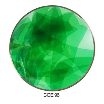 Coloritz™ Confetti Glass Green Transparent COE96