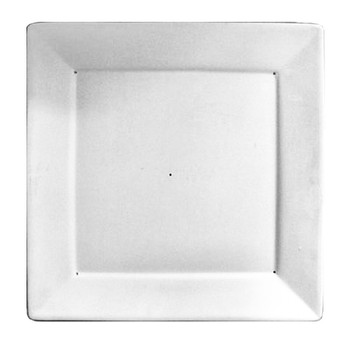 13 cm Slumping Mold from Nartique Glass Simple Curve Square Plate 5.3 in