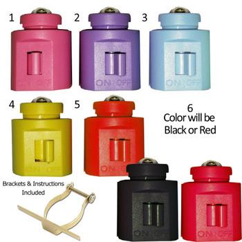 Night Light LED Kit Multi-Color Low Profile Switch Style SKU 41000-DIY-KIT, 6 colors