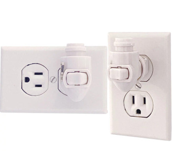 Rotation Examples of Night Light Swivel Rotate Incandescent White Switch Kit, SKU 41000-ROTATE