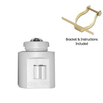 Night Light LED DIY Kit White Low Profile Switch Style