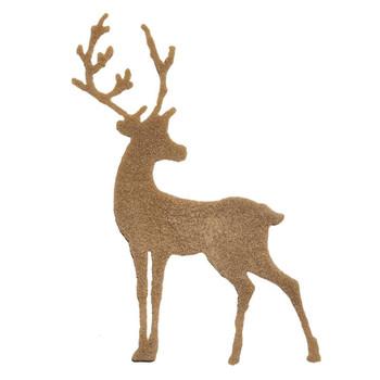COE96 fusible Precut Glass Reindeer Set Christmas Ornament Wafer(96815)
