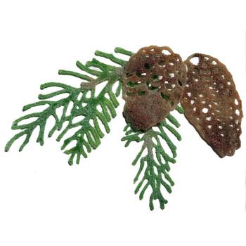 COE96 Precut Glass Pine Branch Pine Cone Wafer Set (96795)