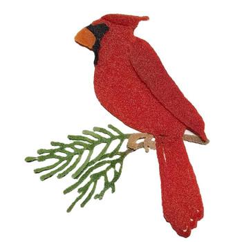 OE96 Precut Glass 3D Cardinal Wafer Christmas Ornament Kit (96814)