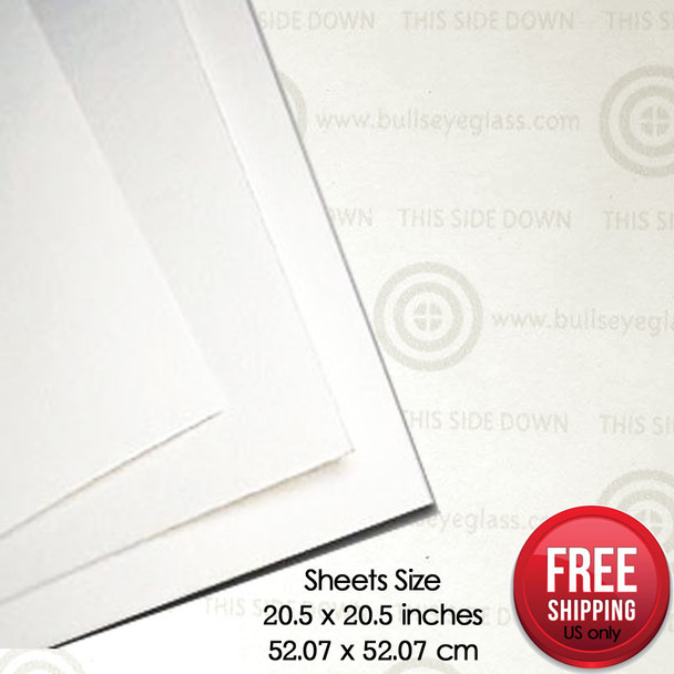 Bullseye Thinfire Kiln Shelf Paper 5 X 5 15 Pack